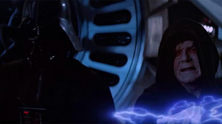 Scene from Return of the Jedi