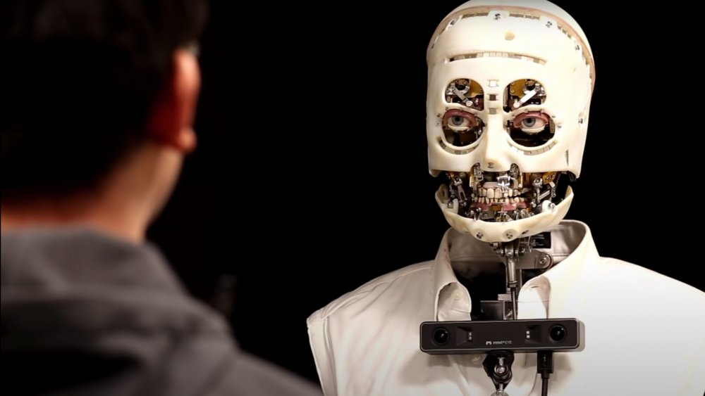 The nameless, faceless Disney robot