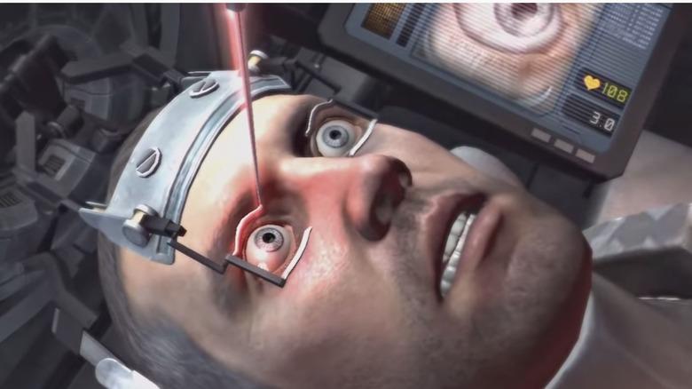 The eye-poke scene in Dead Space 2