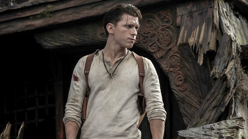 Tom Holland stars as Nathan Drake in the Uncharted film