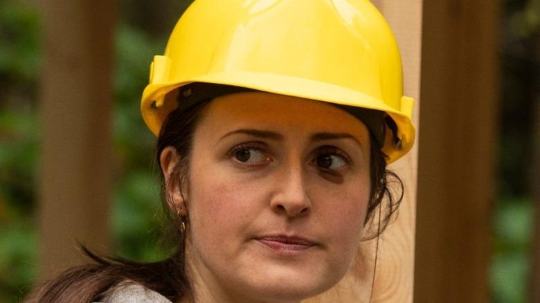 Sandra Kelly Clare Dunne yellow hard hat