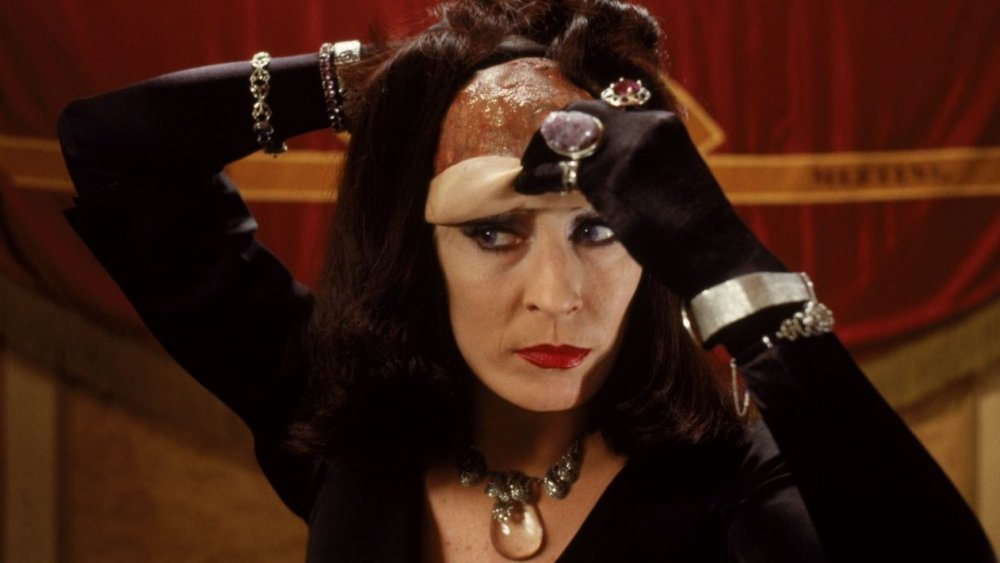Anjelica Huston as The Grand High Witch in The Witches