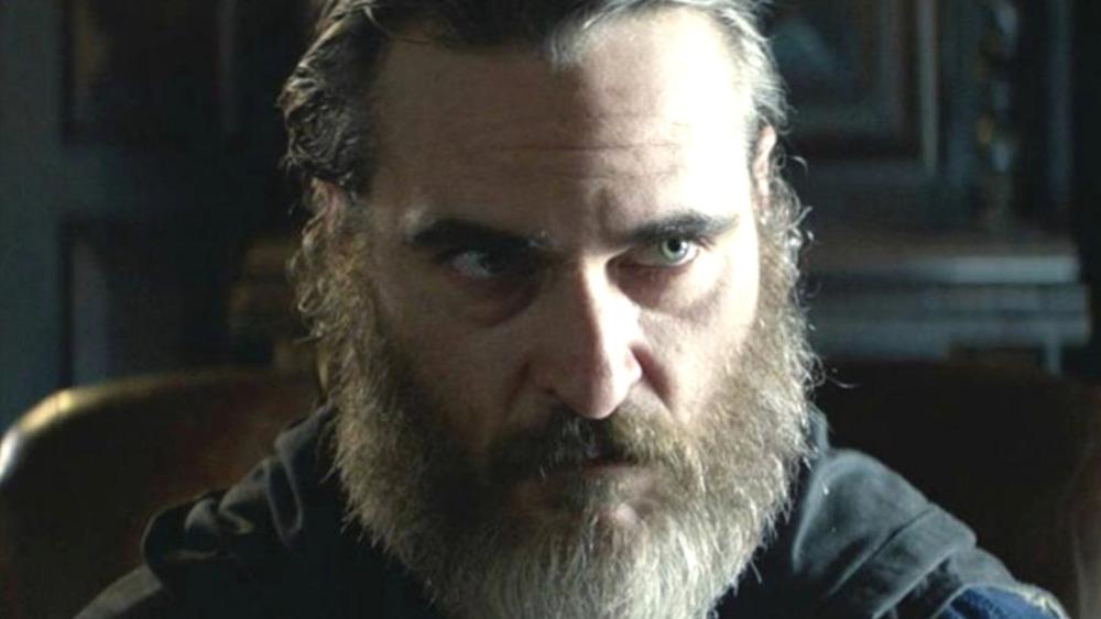 Joaquin Phoenix staring down his enemy