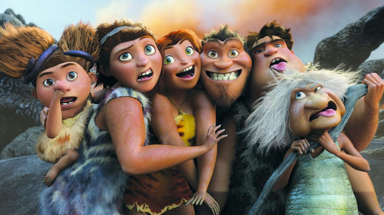 from Dreamworks' The Croods
