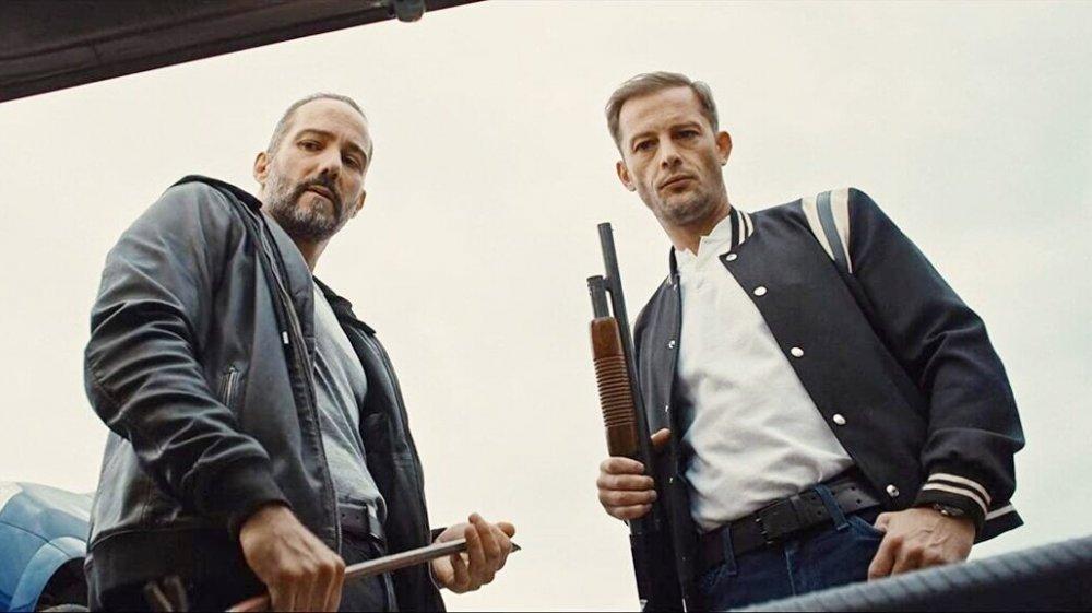 Sébastien Lalanne and Nicolas Duvauchelle in Lost Bullet