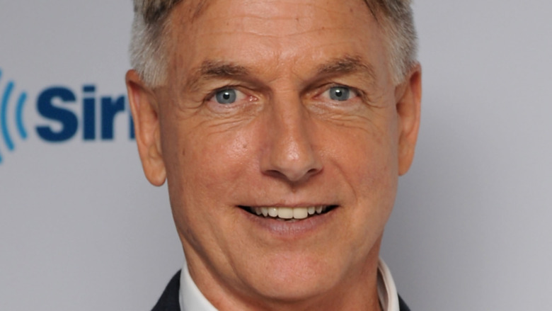 Mark Harmon close-up