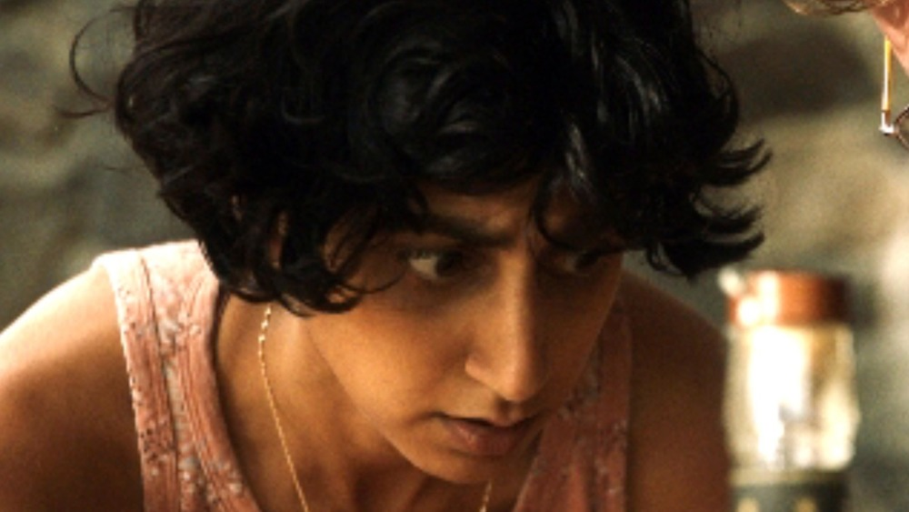 Sunita Mani looking upset