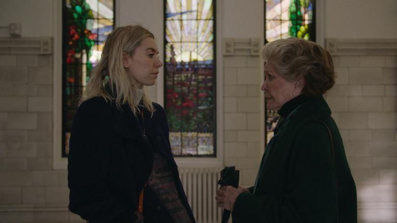 Martha and Elizabeth talk