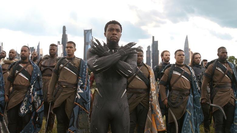 Black Panther in Wakanda