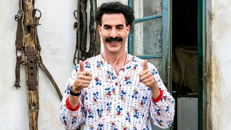 Sacha Baron Cohen Borat Subsequent Moviefilm