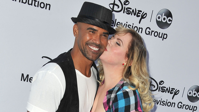 Shemar Moore and Kirsten Vangsness