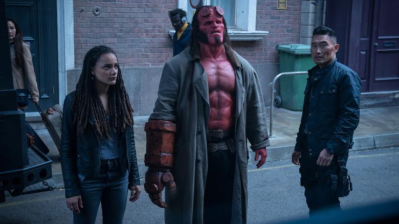 Hellboy, Daimio, and Alice
