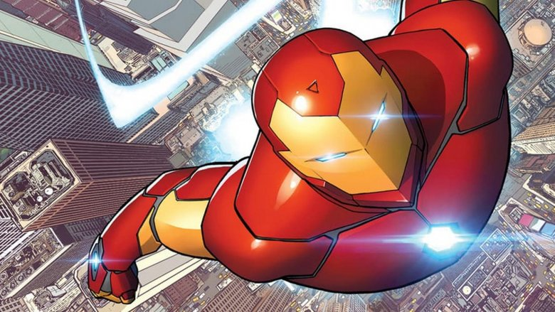 Invincible Iron Man #1, Marvel Comics 2015
