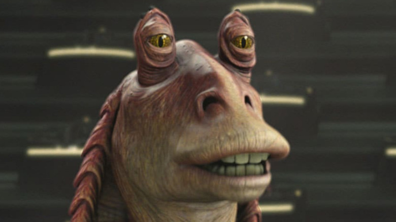 Jar Jar Binks speaking