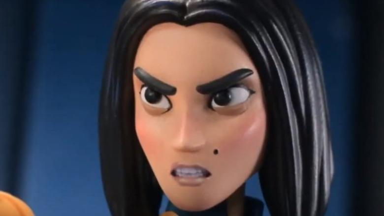 Monica Rappaccini black hair