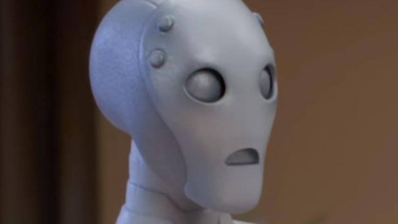 Super-Adaptoid looking shocked
