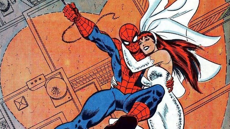 Spider-Man and Mary Jane Watson