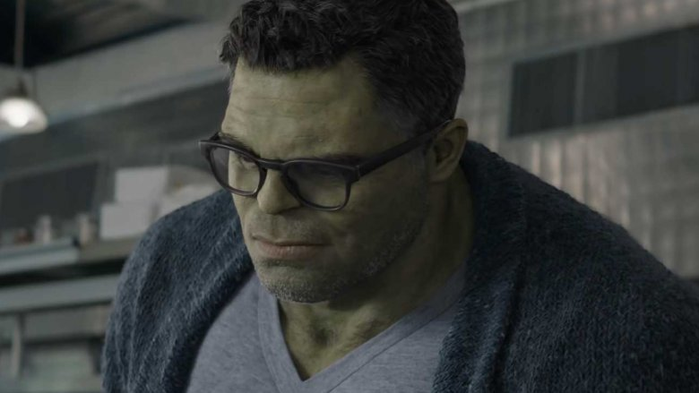 The Professor Hulk in Avengers: Endgame