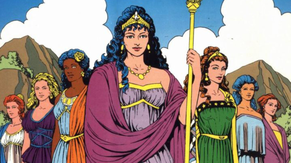 Queen Hippolyta of the Amazons