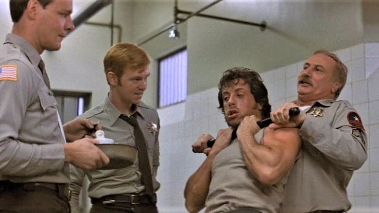 Stallone as Rambo in First Blood