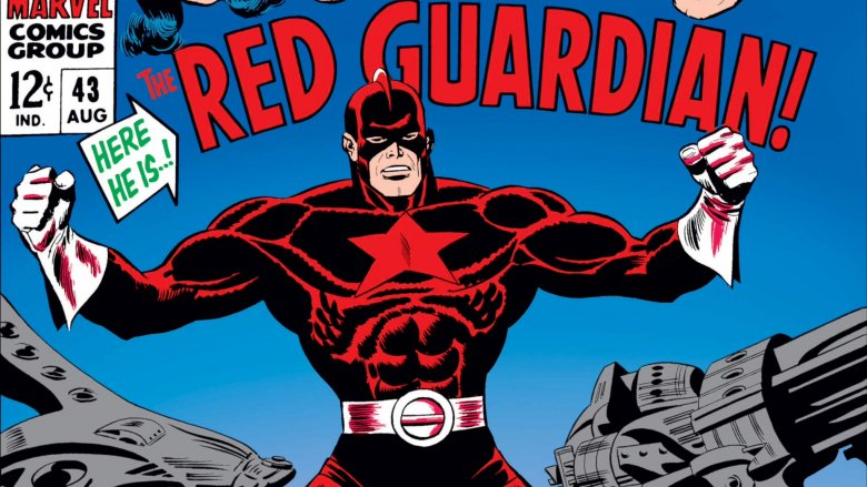 The Red Guardian's first appearance in Avengers #43