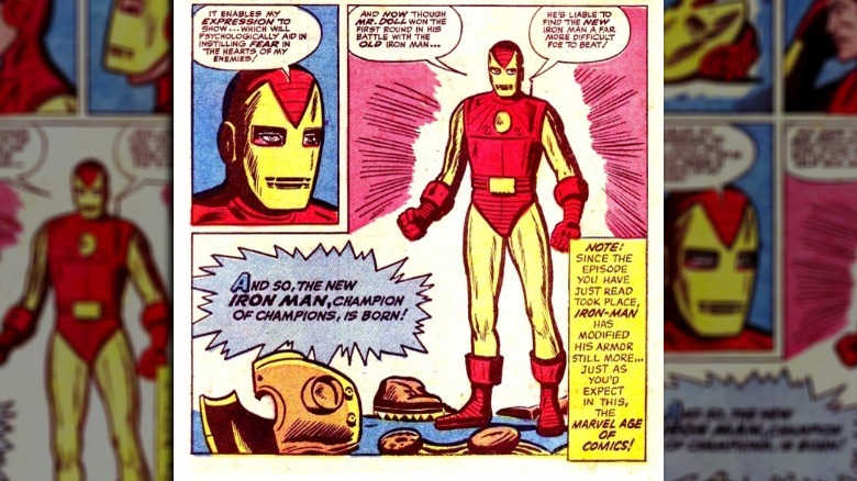 Iron Man Steve Ditko Marvel Comics