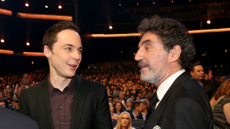 Jim Parsons and Chuck Lorre