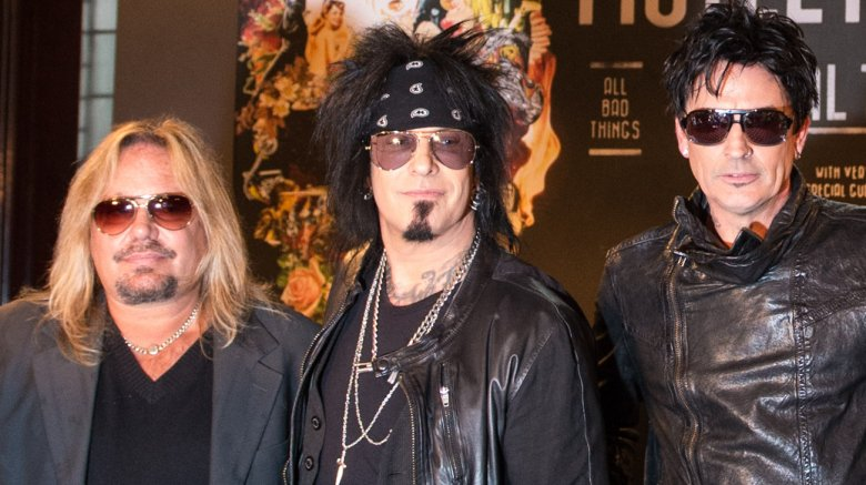 Vince Neil, Nikki Sixx, Tommy Lee