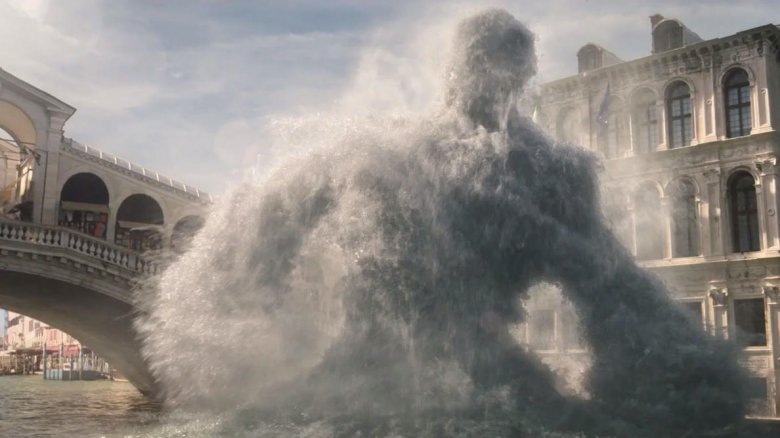 The water elemental from Spider-Man: Far from Home