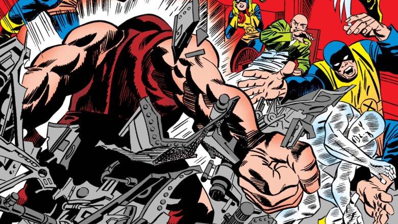 Juggernaut vs X-Men