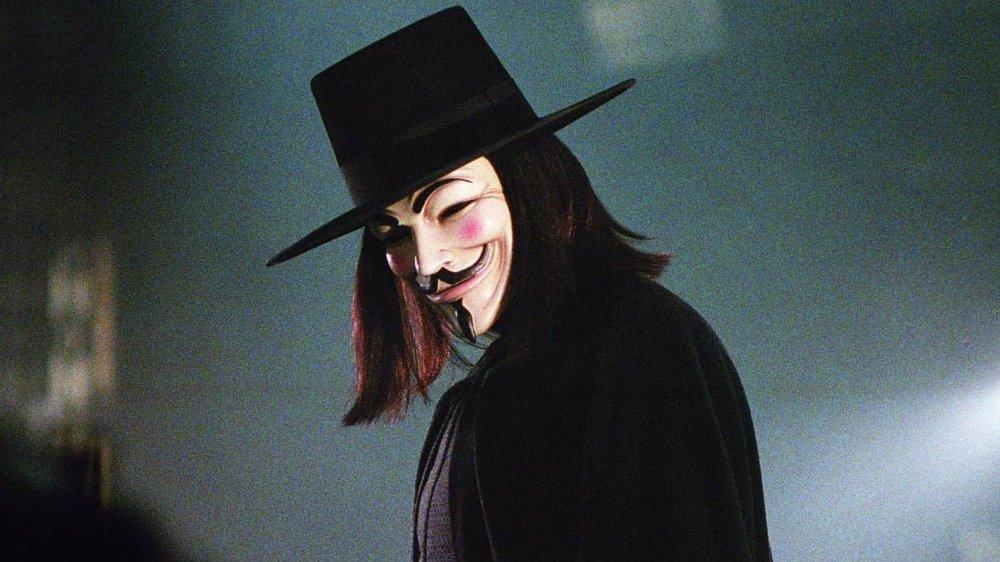 V, as seen in V for Vendetta