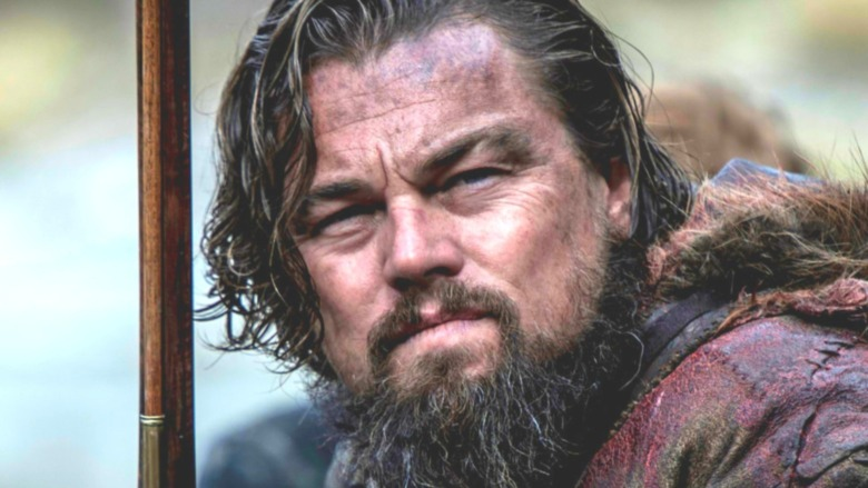 The Revenant Leonardo DiCaprio beard