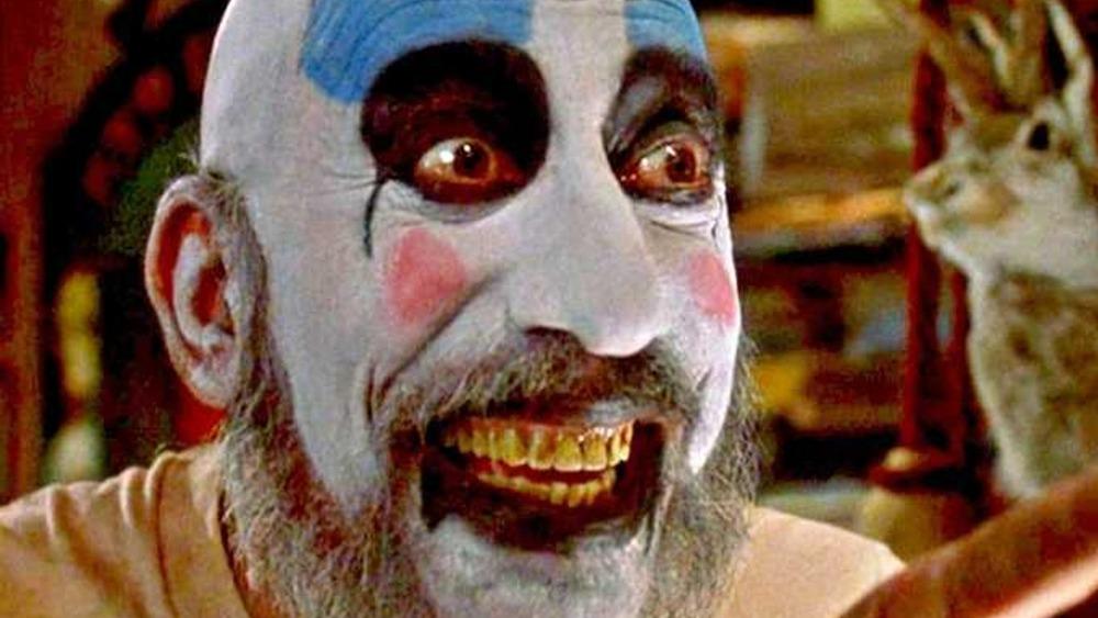Captain Spaulding grinning