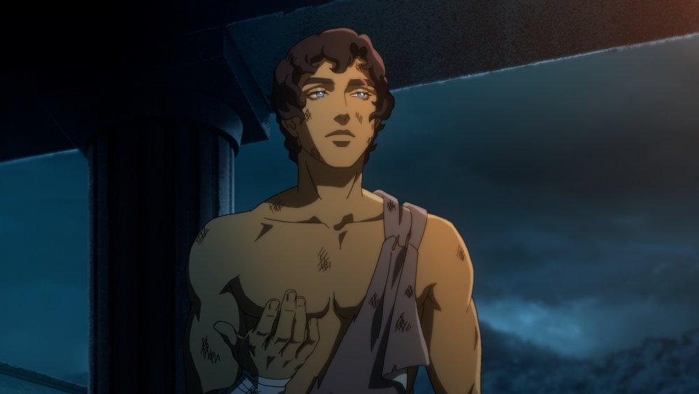 Heron, voiced by Derek Phillips, on Blood of Zeus