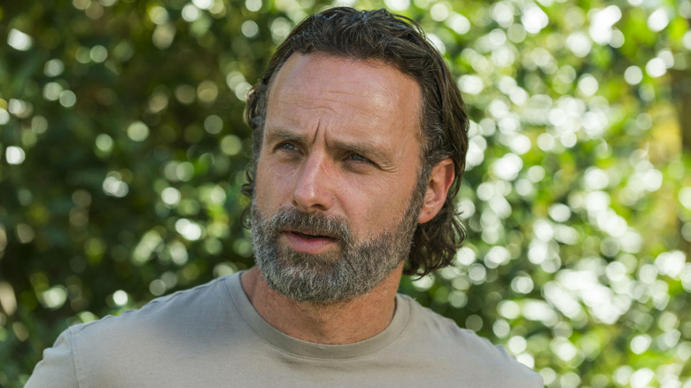 Rick Grimes confused