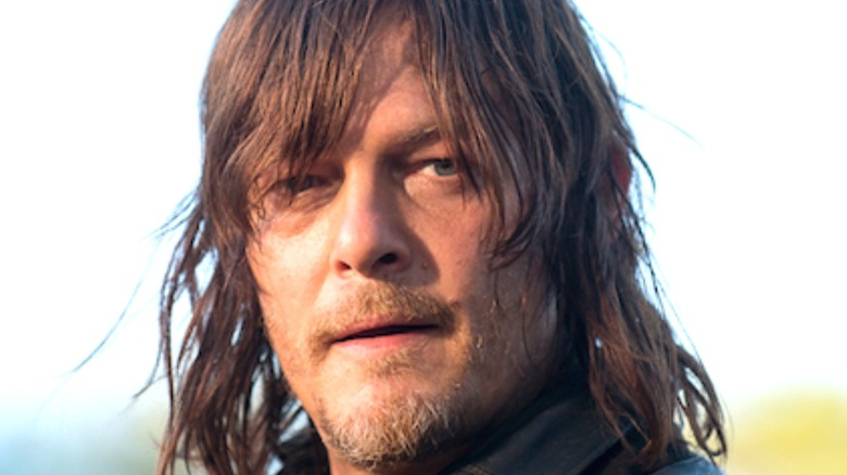 Daryl with bangs in eyes