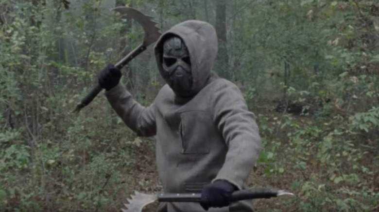 The Masked Man makes an impactful appearance in The Walking Dead