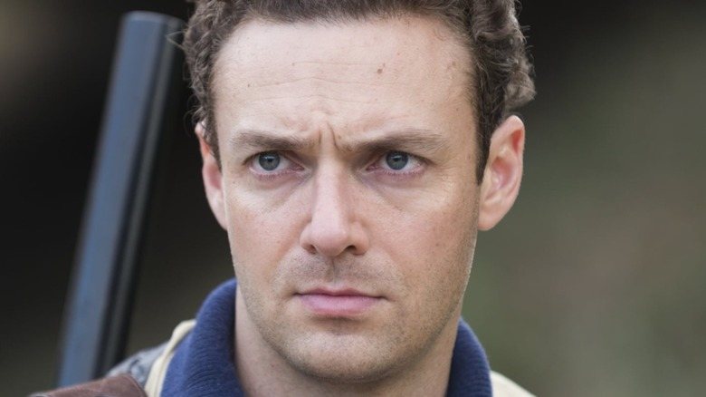 Ross Marquand staring