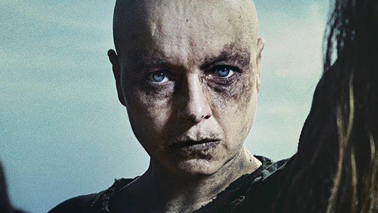 Samantha Morton as Alpha on The Walking Dead