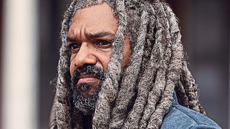 King Ezekial staring
