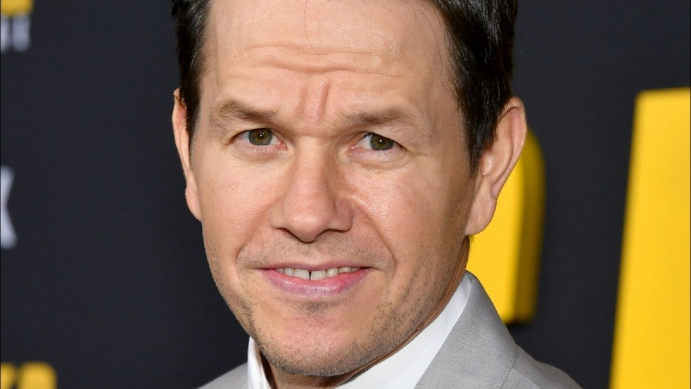 Mark Wahlberg looking dopey