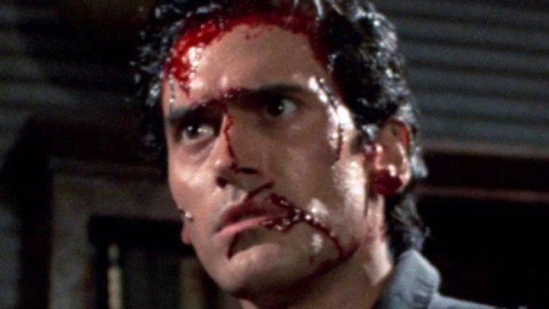 Bruce Campbell as Ash Williams in Evil Dead II