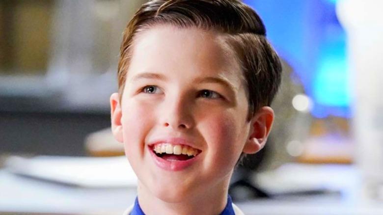 Iain Armitage as Young Sheldon