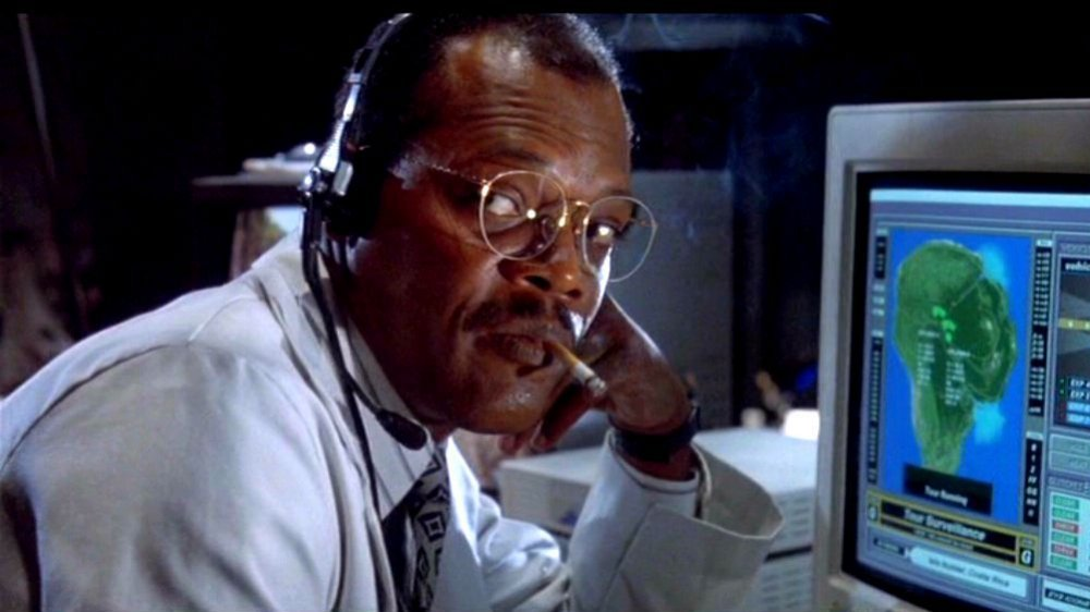 Samuel L. Jackson as Ray Arnold in Jurassic Park