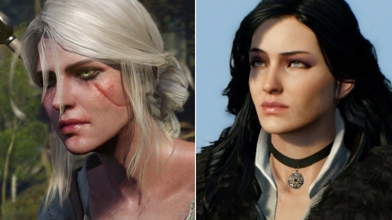 Ciri and Yennefer from The Witcher