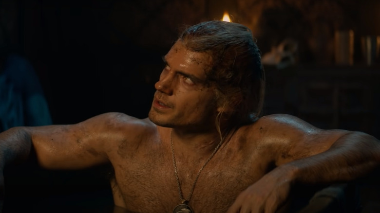 Henry Cavill as seen on Netflix's The Witcher