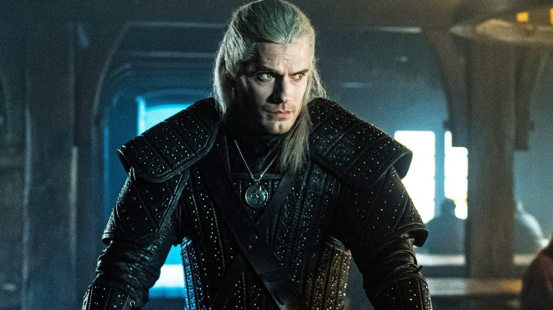 Henry Cavill as Geralt of Rivia on Netflix's The Witcher