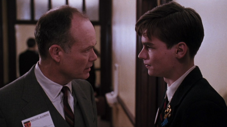 Kurtwood Smith and Robert Sean Leonard in Dead Poets Society