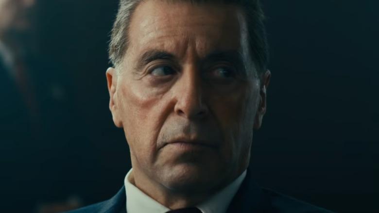 Al Pacino as Jimmy Hoffa in The Irishman