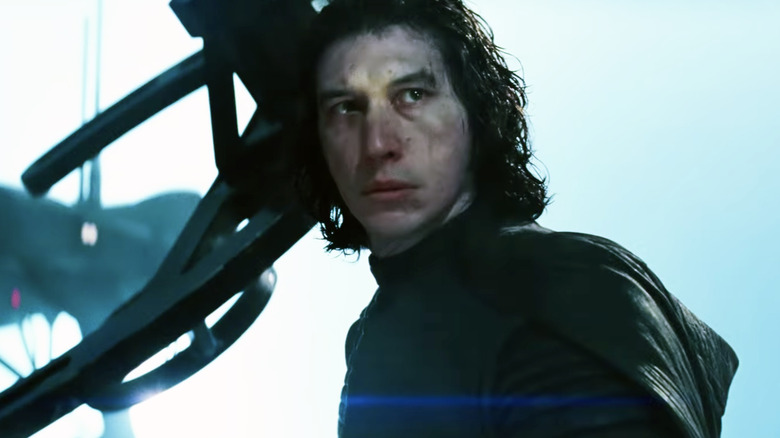 Adam Driver in The Rise of Skywalker
